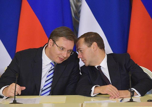 塞尔维亚总理期待俄总理10月访问贝尔格莱德