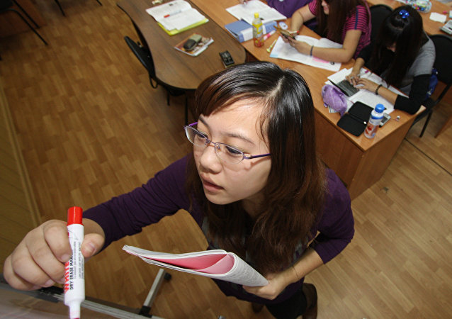 超千名学生报名参加第二届中国中学生俄语大赛