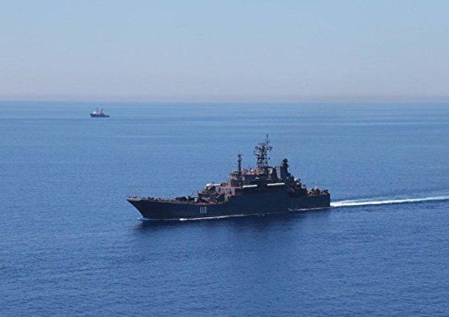 俄国防部:军舰突击集群将于8月15日在地中海举行演习