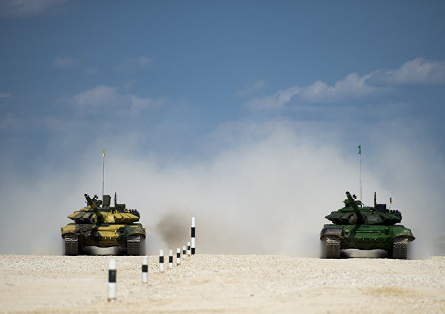 俄罗斯、白俄罗斯、哈萨克斯坦和中国预计进入坦克两项决赛
