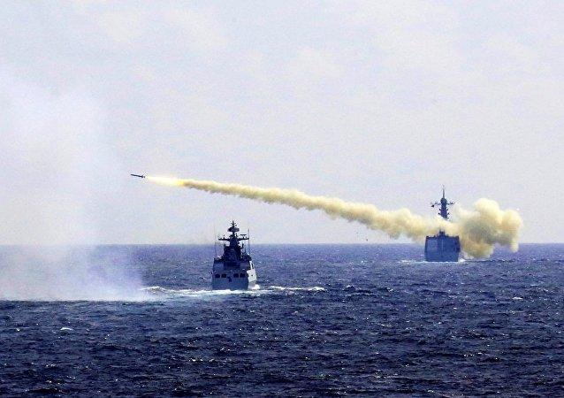 中国专家:中俄南海举行联合军演没有任何特殊的针对性