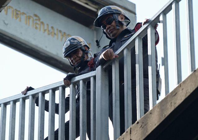 泰国警方逮捕两名涉嫌华欣连环爆炸案的嫌犯
