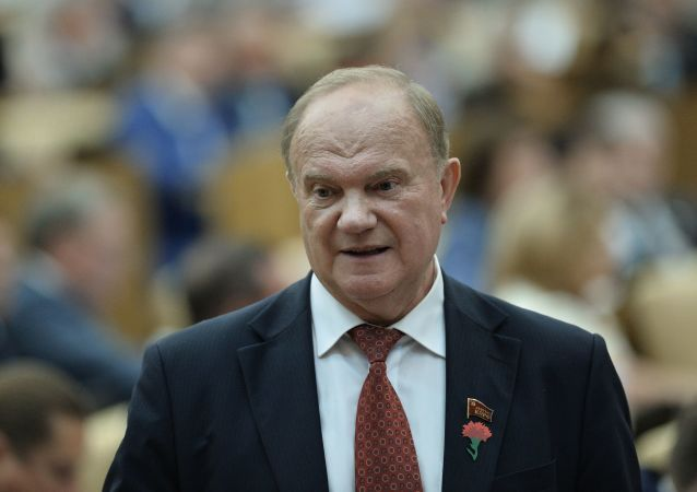 俄共领导人久加诺夫