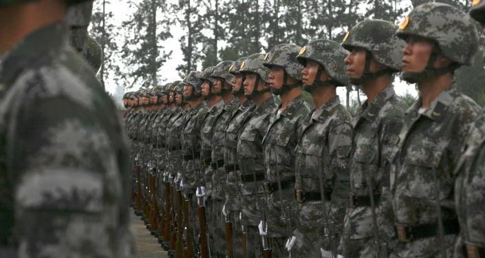 中国将军呼吁用武力解决台湾问题