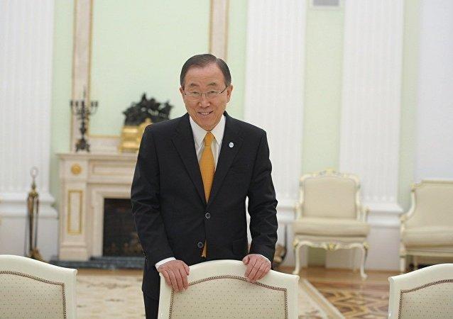 前任聯合國秘書長潘基文