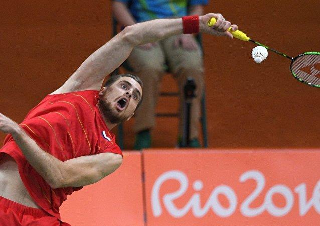 俄羽毛球选手伊万诺夫称奥运男双比赛因心理因素输给中国组合