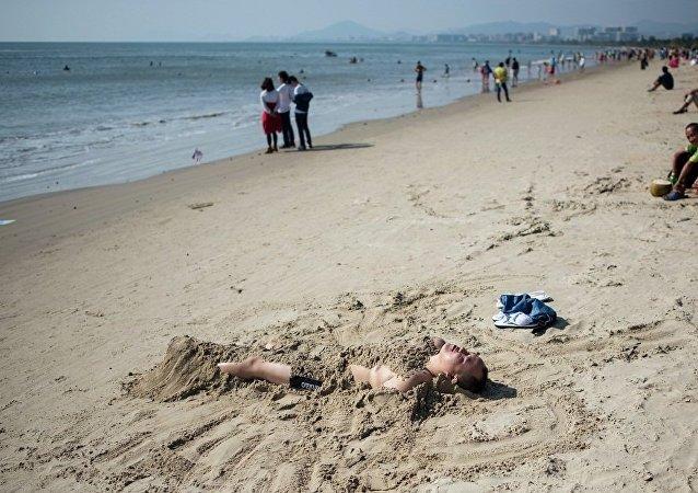 海南九成以上外國遊客來自俄羅斯