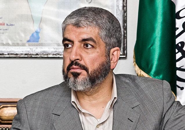伊斯兰运动哈马斯的政治局领导人迈沙阿勒