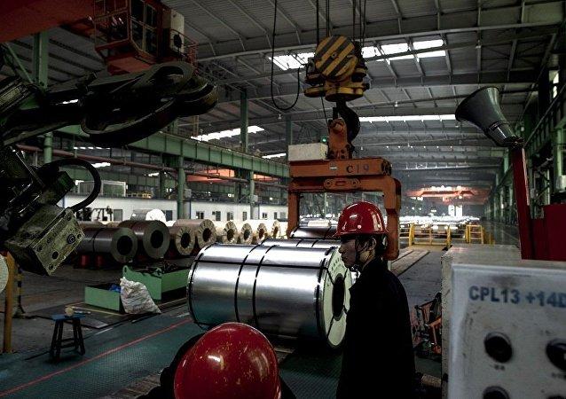 中国主要工业企业的利润在7月份上涨11%