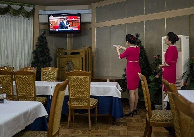 媒体:朝鲜研制出本国网络电视