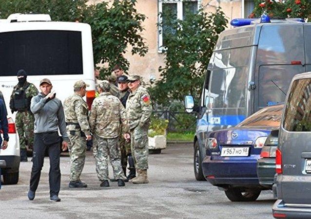 消息人士:卡巴尔达-巴尔卡尔共和国地下团伙头目在圣彼得堡被消灭