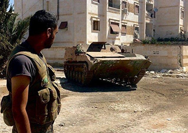 叙政府军收复阿勒颇的战略要地军事学院
