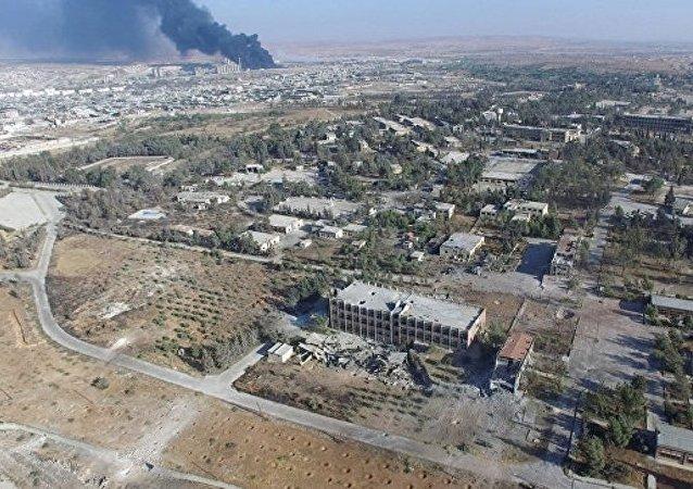俄外交部称俄叙10月18日起就没有对阿勒颇东部实施空袭