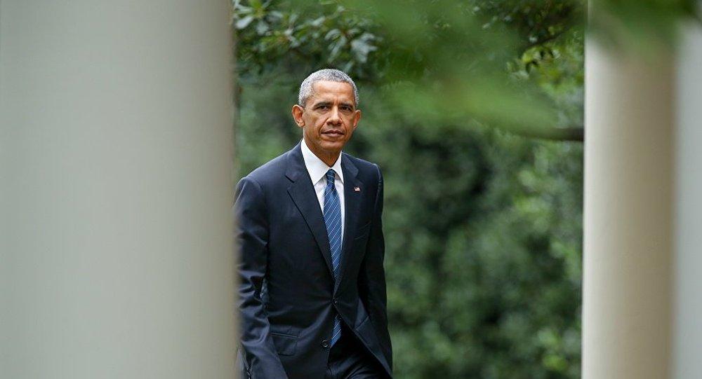 奥巴马相信美国在其执政期间变得更加强大