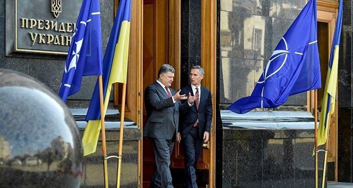 民调:三分之一乌克兰国民不支持本国加入北约