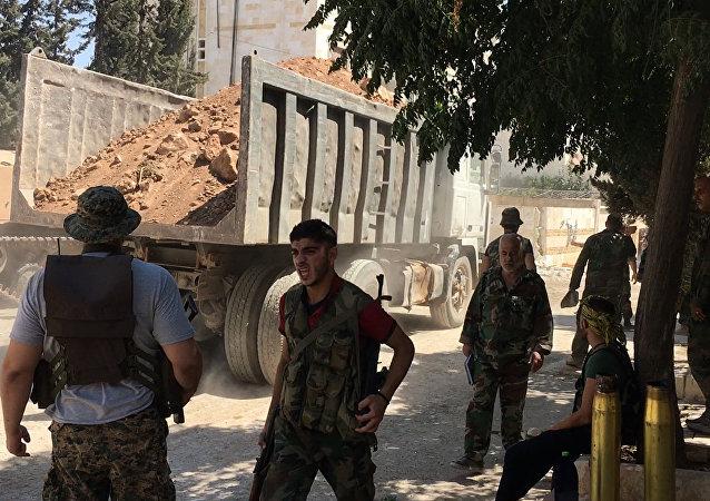 联合国叙利亚问题特使对俄罗斯准备在阿勒颇组织人道主义间隙停火表示欢迎