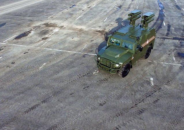 媒体:俄空天军试验最新型地空导弹系统