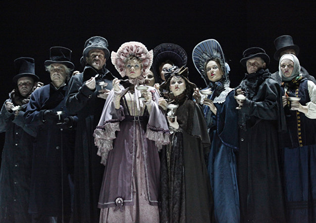 瓦赫坦戈夫剧院将在北京上演《假面舞会》话剧
