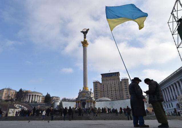 """乌克兰,基辅,""""乌克兰宾馆"""""""