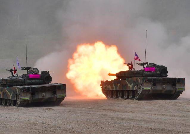美韩联合军演