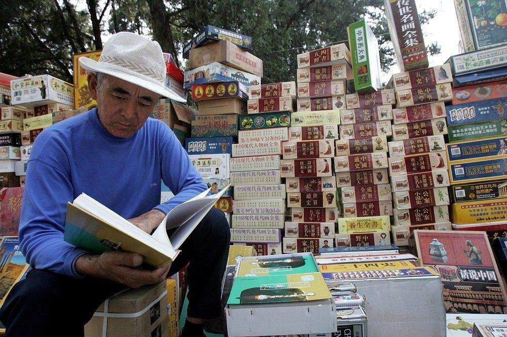 中國在最愛閱讀國家中排名第三