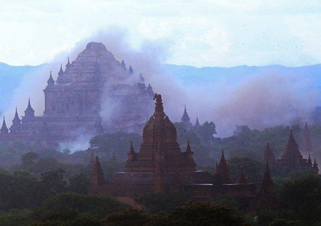 欧洲地中海地震中心:缅甸中部发生6.8级地震