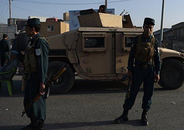 喀布尔爆炸目标是北约联军车辆