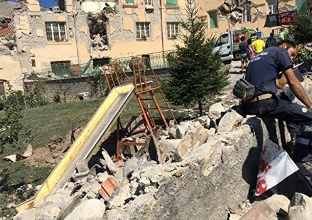 俄紧急情况部将向意大利提供地震善后援助
