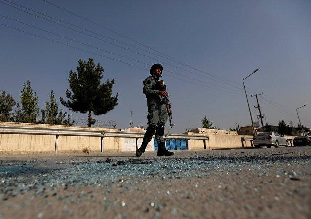 媒体:喀布尔大学袭击事件已致12死44伤