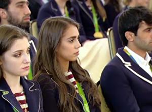普京祝賀俄代表團在里約奧運會上的穩定表現