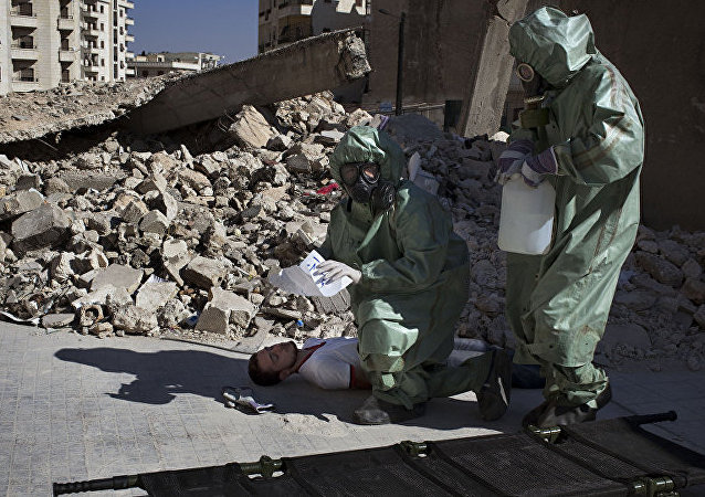 俄国防部:恐怖分子准备用化学弹袭击叙政府军和居民区