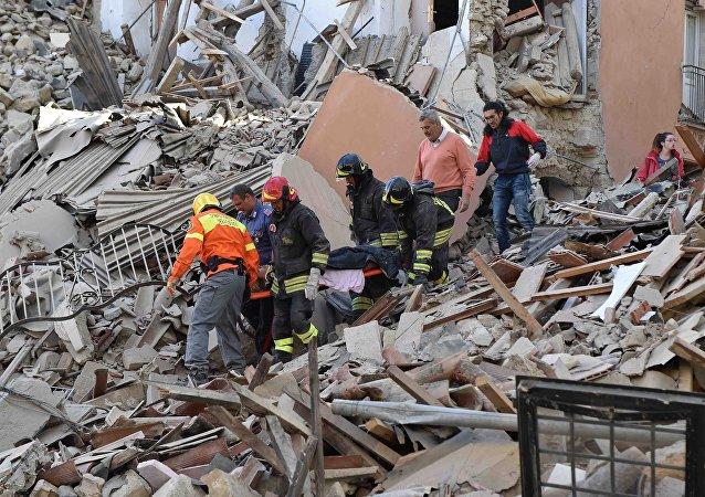 意大利地震