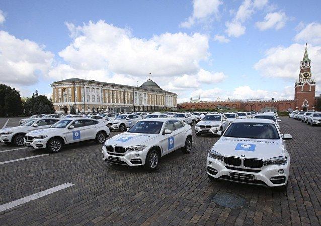 俄第三位里约奥运会奖牌得主出售普京赠送的汽车