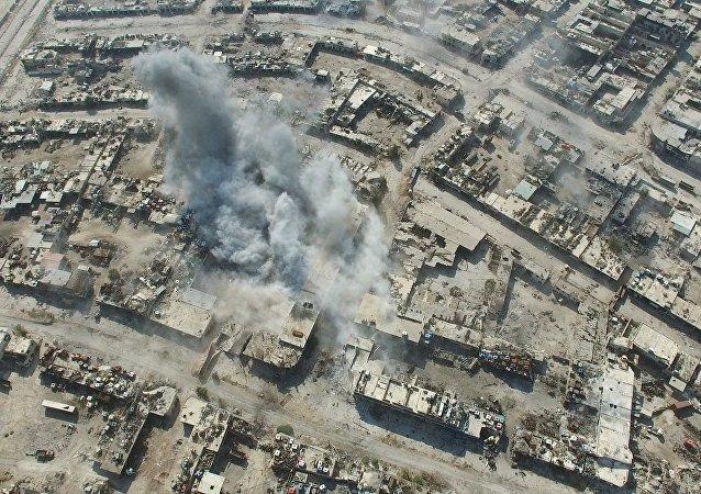 大马士革方面声明:土耳其军人将武器交给阿勒颇恐怖分子