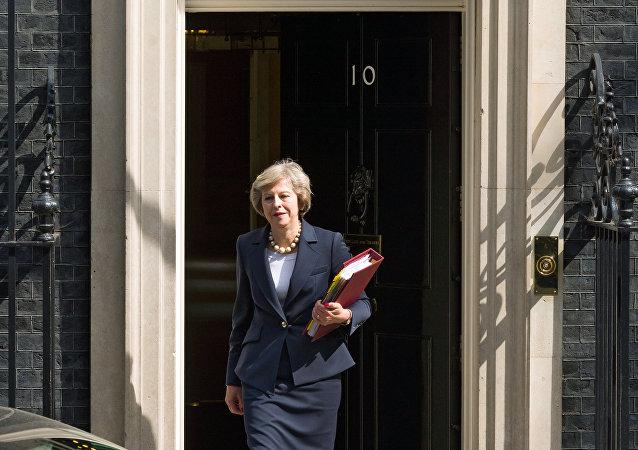 英国首相特蕾莎·梅称