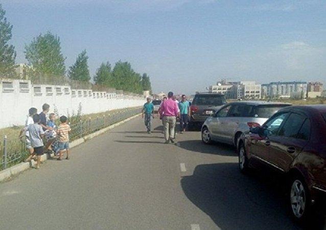 中国驻比什凯克使馆爆炸地发现一具遇难者遗体