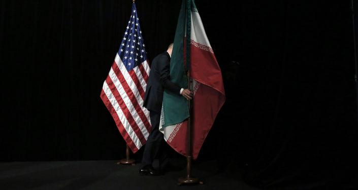 美伊两国国旗