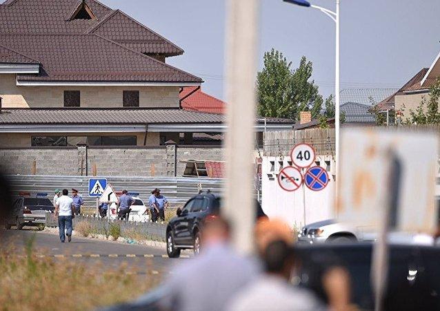 吉尔吉斯斯坦内务部在调查中国使馆附近爆炸车辆驾驶者身份