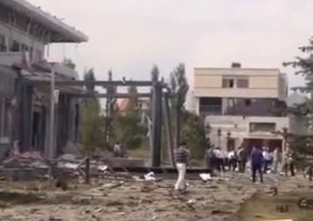 中国驻比什凯克使馆附近发生爆炸