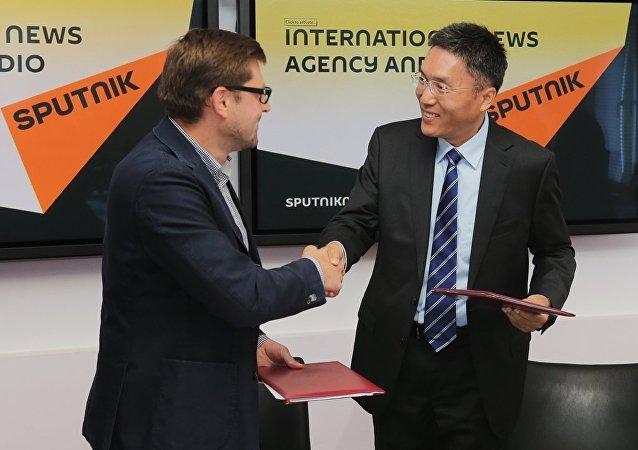 俄罗斯卫星网开始中国最大科学出版社的合作