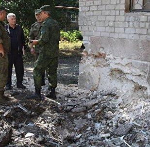 乌强力人员称过去一昼夜顿巴斯民兵炮击致1死6伤