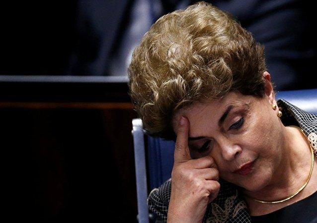 巴西参议院彻底解除迪尔玛·罗塞夫的总统职务
