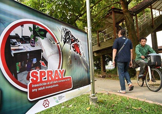 新加坡卫生部:寨卡病毒感染者升至318人