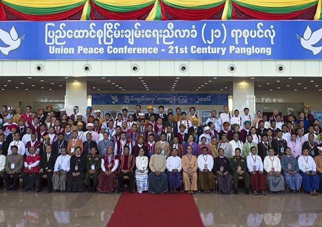 中国外交部:中方祝贺缅甸21世纪彬龙会议顺利开幕