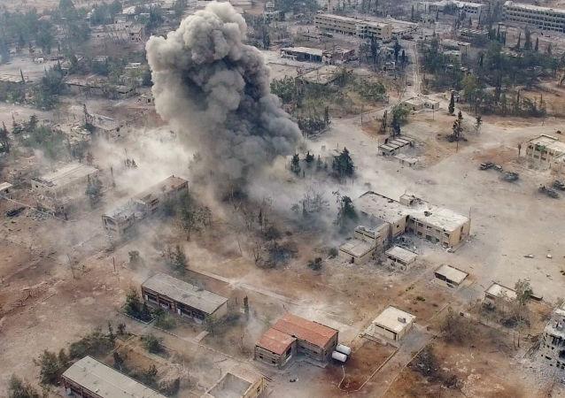 叙利亚信息部长:叙利亚军队急于在美国总统选举前控制阿勒颇