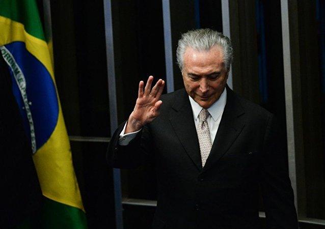 巴西议员提交弹劾特梅尔总统的请求