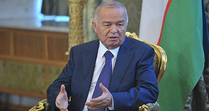 乌兹别克斯坦已故总统伊斯兰·卡里莫夫生平/资料图片/