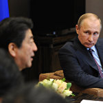安倍希望12月份在輕鬆氛圍下與普京進行公開對話