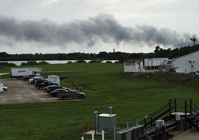 美国政府:SpaceX发射平台爆炸不会威胁佛罗里达州居民