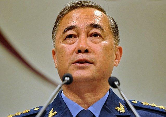 中国空军司令马晓天